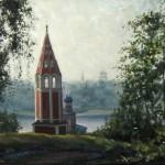 Тутаев. Август 2010г., 50х70, х.м., 2010