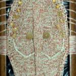 Декоративная маска на раме 22х37 лен хлопок