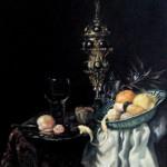 С картины В.Кальфа -Десерт-,40х50, х.м.