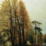С картины И.И. Шишкина -Осень-, 60х80, х.м., 2011