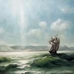 С картины И.К. Айвазовского -Солнечный день-, 60х80, х.м., 2011