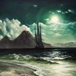 С картины И.К. Айвазовского -Вид моря ночью-, 60х80, х.м., 2011