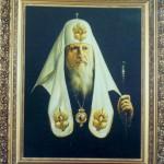 Патриах Пимен 90х100 холст, масло, 1988