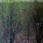 Весна 79х97 холст масло 1997г