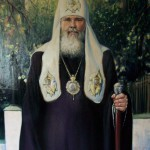 Портрет Алексия II 100х148 холст масло