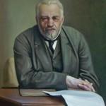 Портрет деда 79х90 холст масло