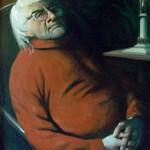 Портрет скульптора Мануилова АА 76х101 холст масло
