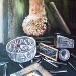 Кап 59х78 холст на картоне, масло, 2009