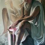 Сократ 110х175 холст масло 1995г