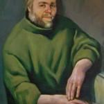Мужской портрет, холст, масло
