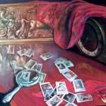 Марки 59х78 холст на картоне, масло, 2009