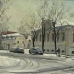г. Рыбинск, здание типографии 20х30 к/м