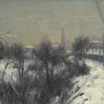 г. Рыбинск, 2013, 25х35, х/к, масло
