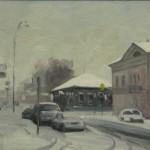ул. Чкалова/Гоголя, 2014, 20х30, к/масло