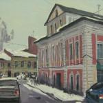 Рыбинск, 2013, 20х40, х/к, масло