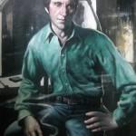 Портрет В.Высоцкого 91х137 х.м. 2011