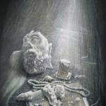 Антика, 60х85, бумага, цветная тушь, перо